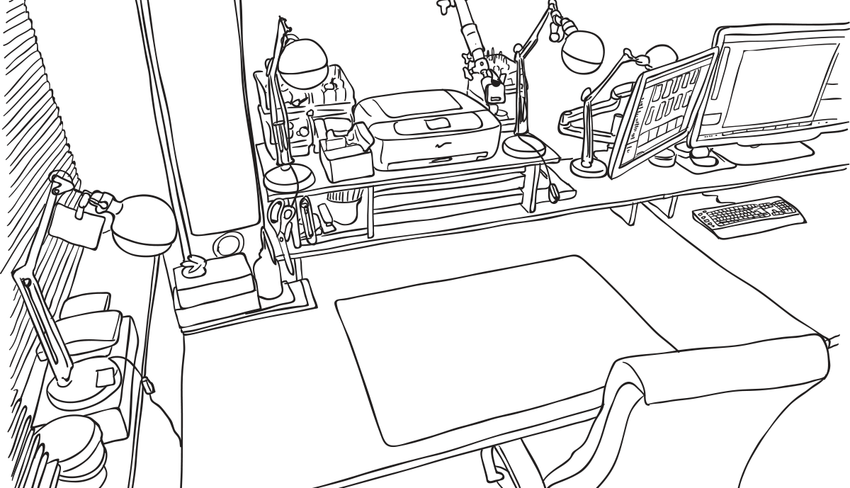 ole-wohlers_illustration_rough-vector-linedrawing_room_02